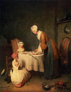 Pour les enfants du KT - La prière du repas : Le bénédicité