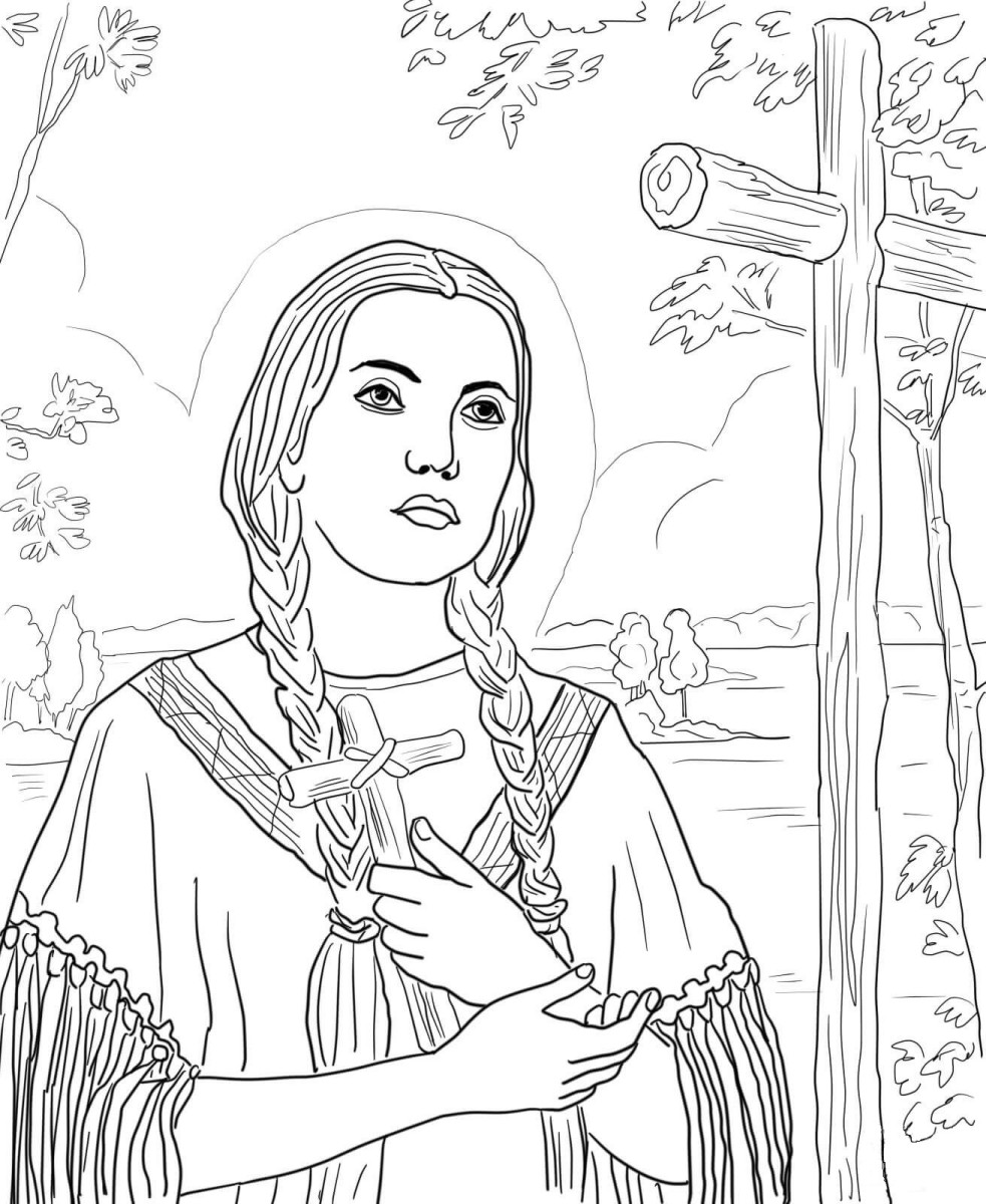 Récit pour les enfants : sainte kateri Tekakwitha, protectrice du canada