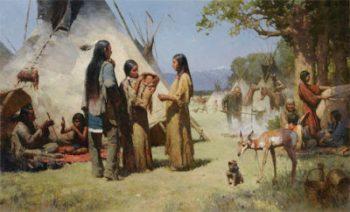 La petite sainte indienne du Canada Kateri TEKAKWITHA