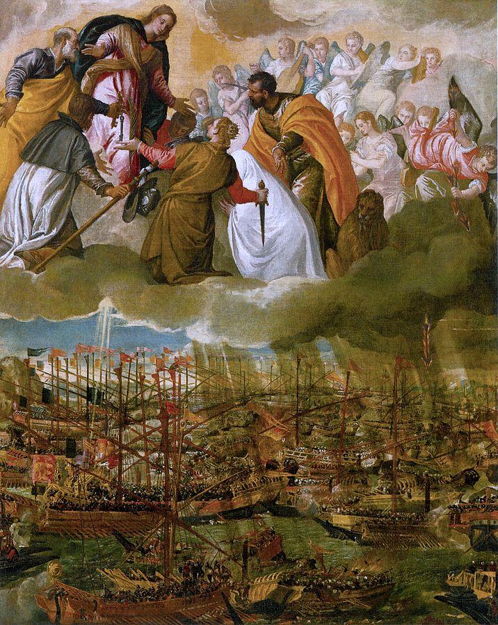 Intercession de la Vierge et Bataille de Lépante