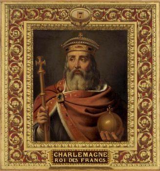 Saint Charlemagne et Saint Georges - empereur et soldat