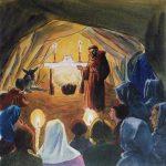 La première crèche de Saint François d'Assise