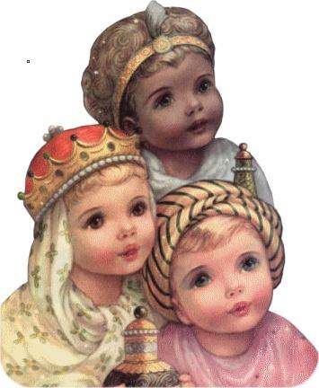 Enfants Rois Mages - Epiphanie et Veillées de Noel
