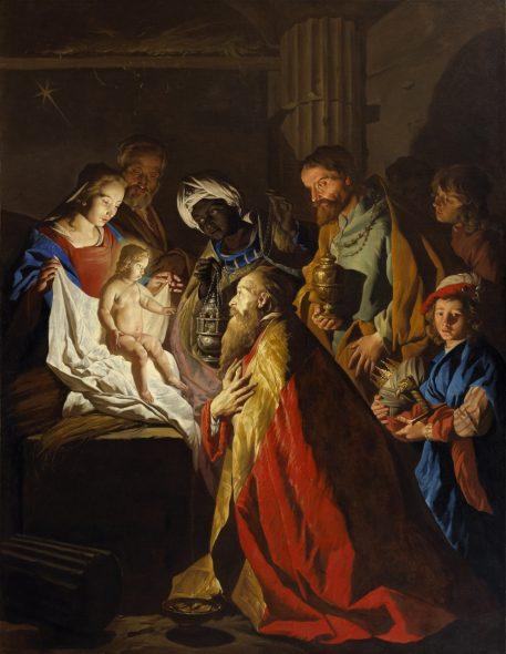 Tableau - L'adoration des Mages