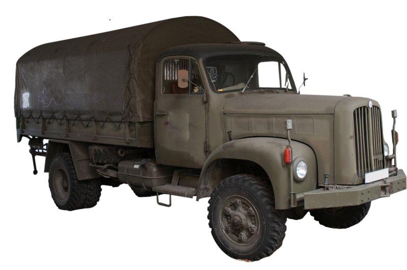 André veut aider les autres - Livraison en camion