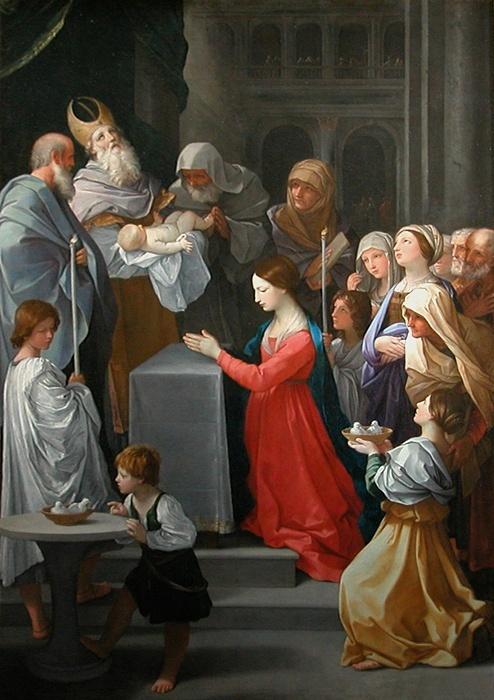 Grand'Mère raconte aux enfants la présentation de Jésus au Temple - Chandeleur