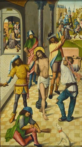La flagellation du Christ - Histoire de la Passion pour les enfants