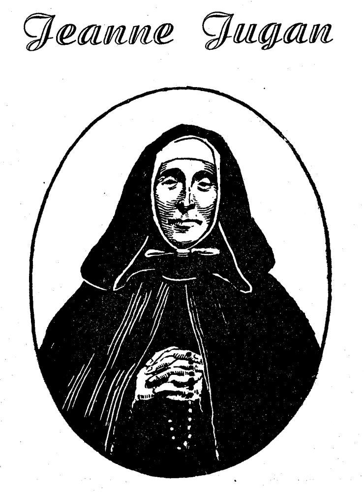 Jeanne Jugan fondatrice des petites soeurs de pauvres