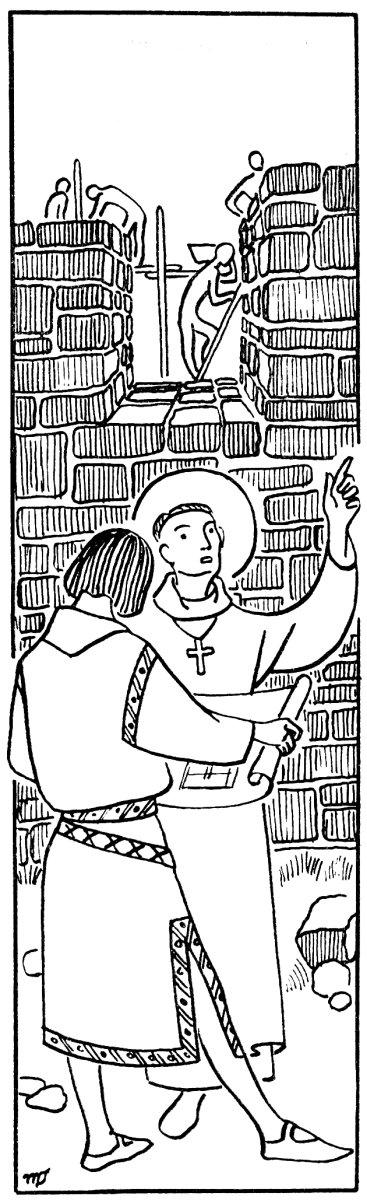 Récit chrétien - Saint Patrick - Aucun coin qu'il n'éclaire de la foi, où il ne bâtisse.