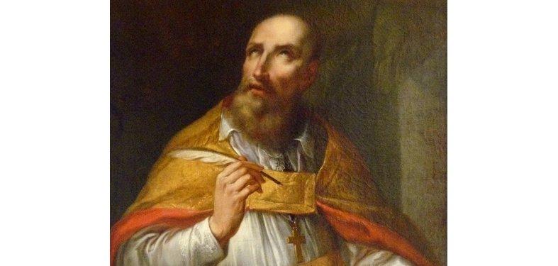 Saint patron des journalistes et des écrivains - St François de Sale évêque de Genèves