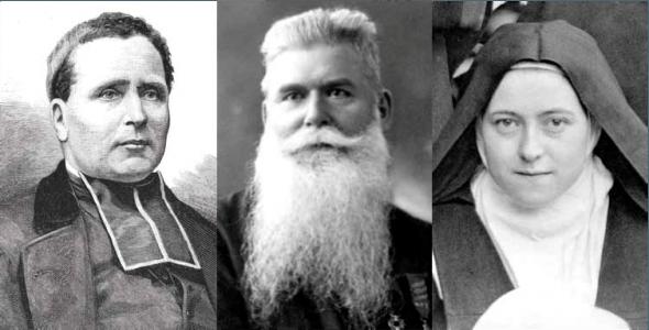 Abbé Roussel, Père Brottier et Sainte Thérèse - LŒuvre des Orphelins Apprentis d'Auteuil