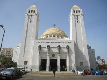 Cathédrale de Dakar construite sous l'impulsion du Père Brottier