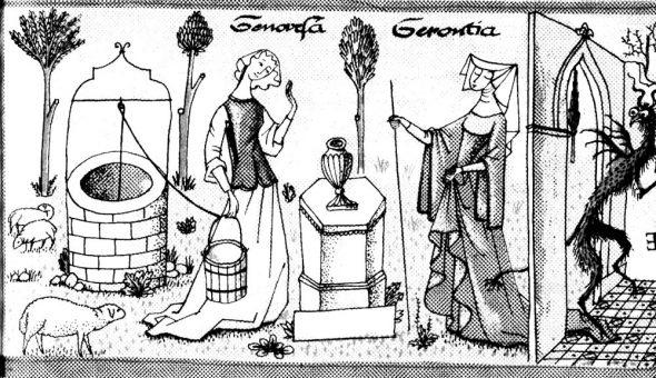 Jeunesse de sainte Geneviève raconté aux enfants