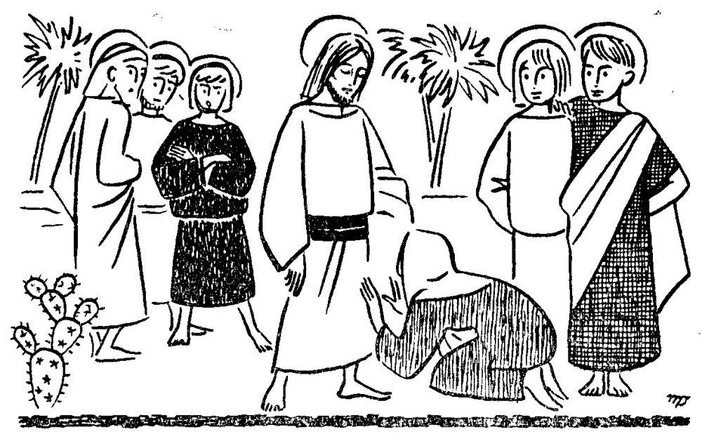 Salomé réclame à Jésus une place de choix pour ces fils Jacques et Jean