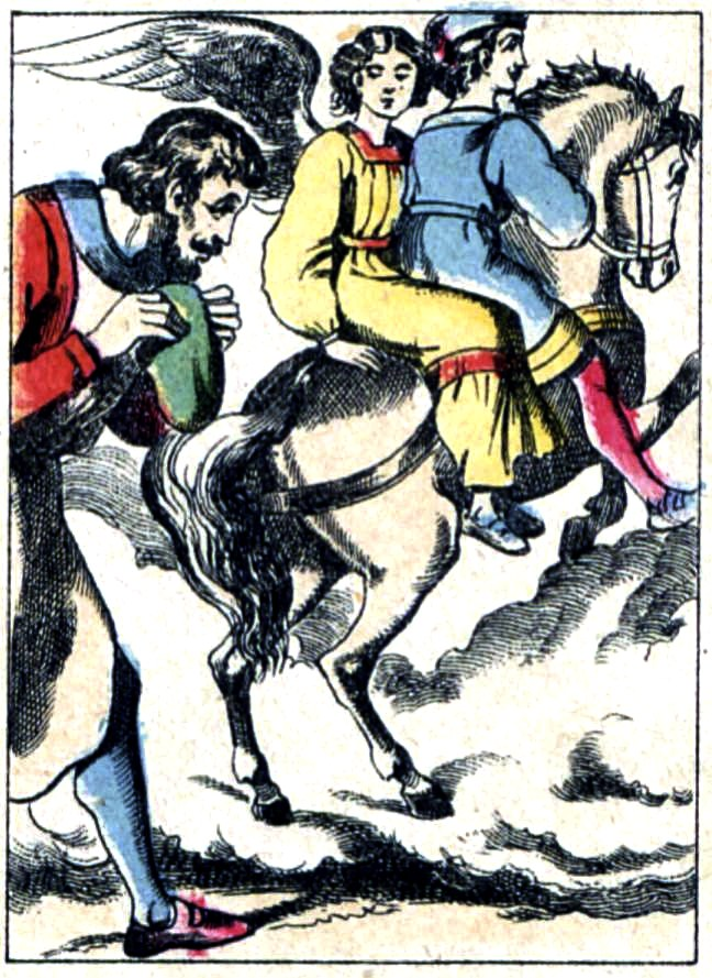 Légende de Saint Éloi - Jesus disparait avec Saint Martin
