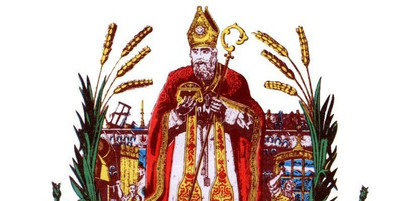 Saint Eloi patron des marechaux-ferrants, des forgerons et des orfèvres