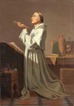 Le peintre Fra Angelico en prière