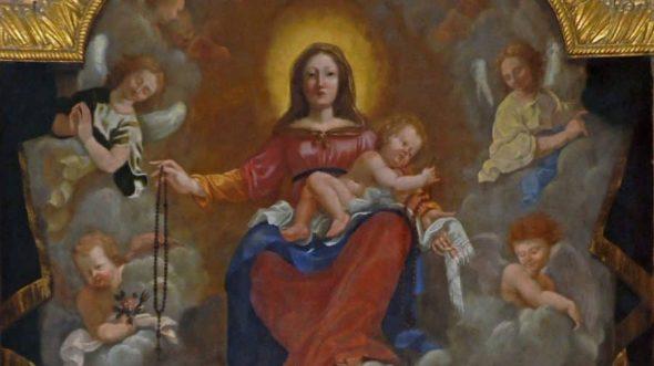 Conte Chrétien - L'intercession de la Vierge Marie
