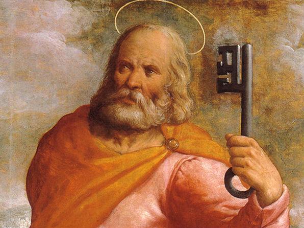 Conte pour les enfants du caté : Saint Pierre et les clées du paradis