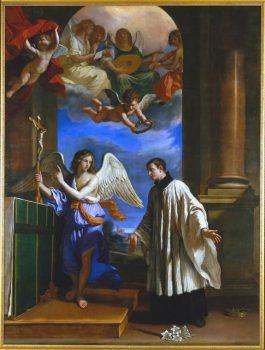 La vocation de saint Louis de Gonzague - Le Guerchin 1650