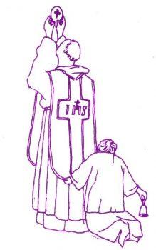 Vie de saint Joseph de Cupertino pour les enfants : Il dit la messe