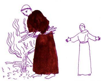 St Joseph de Cupertino moine maladroit