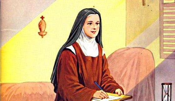 Sainte Thérèse carmélite à Lisieux