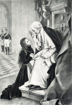 Sainte Thérèse et LéonXIII