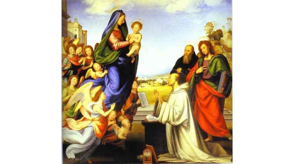 Vierge du Souvenez vous Saint Bernard