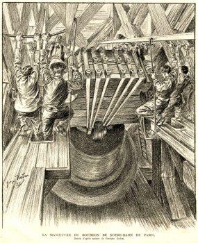 Sonnerie des cloches - Manoeuvre bourdon Emmanuel