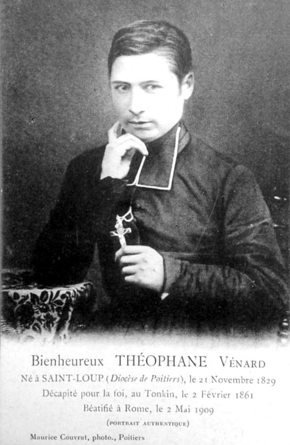 Portrait de Saint Thephane Venard