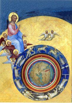 Battistero - La création des anges, du ciel, de la terre