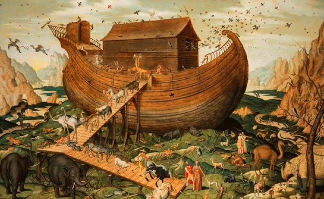 Récit du déluge pour les enfants - Arche de Noé