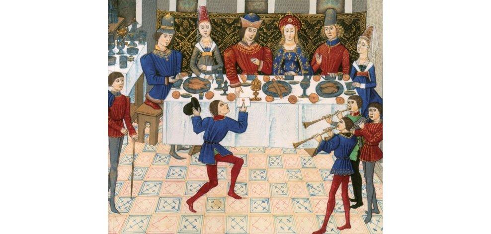 repas au chateau - L'esprit de partage du berger à Noël