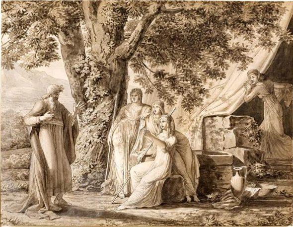 Abraham et les trois anges - Sara