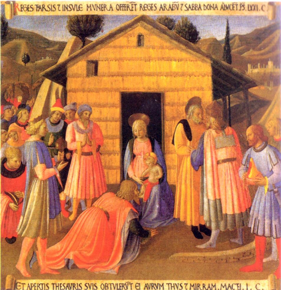 Adoration des mages à Bethléem de Judée