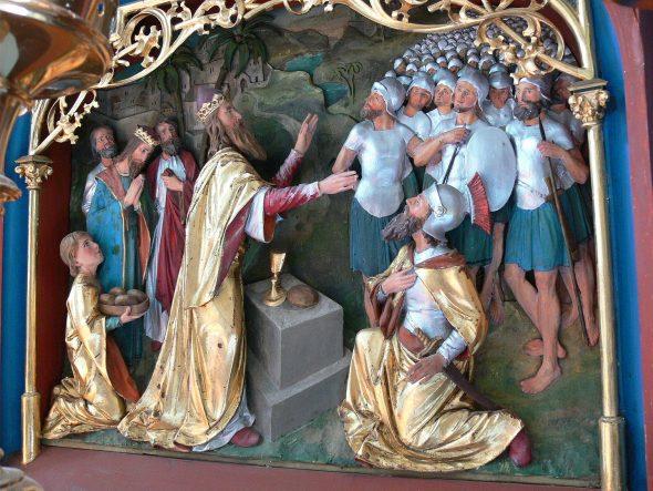 Récit biblique : Melchisédech bénit Abraham