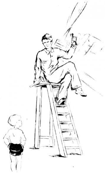 Bernard explique l'histoire de Jacob
