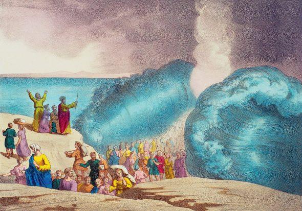 Moïse Passage de la Mer Rouge