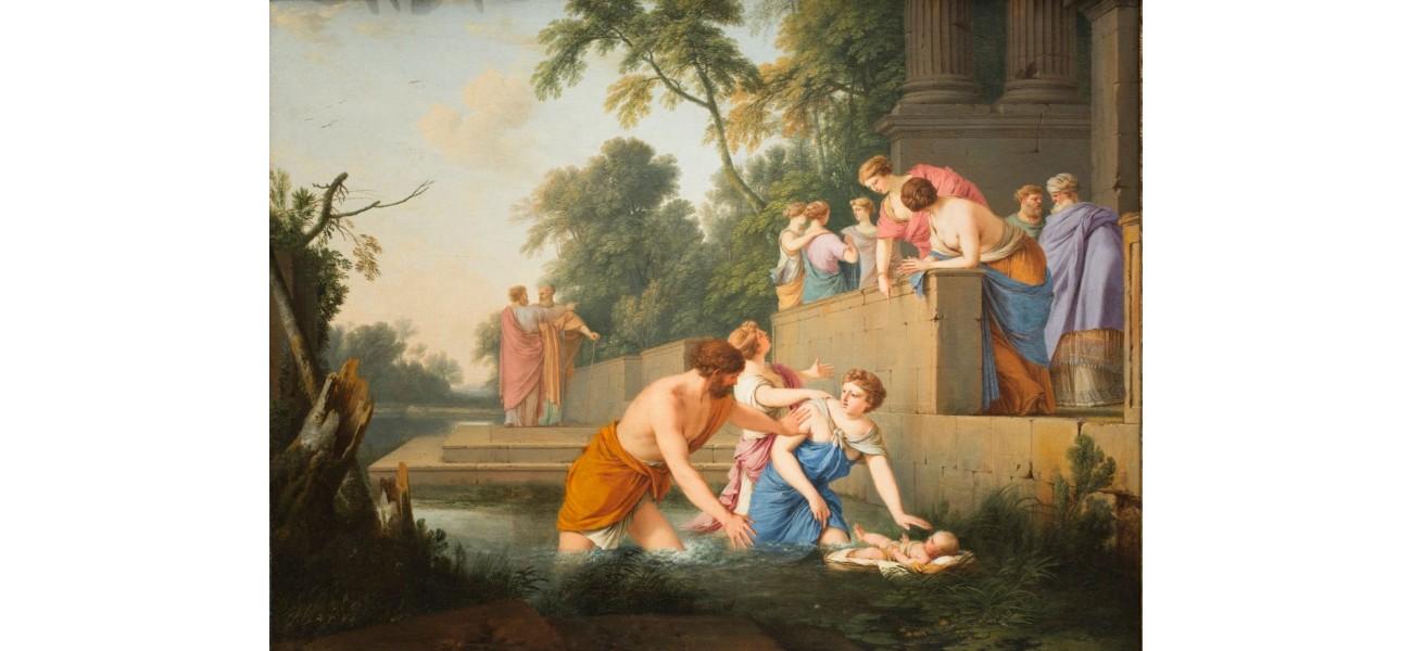 Récit biblique pour les enfants : Moïse sauvé des eaux