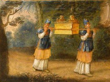Bible pour l'école du dimanche : Moise - L'Arche d'alliance et les Lévites