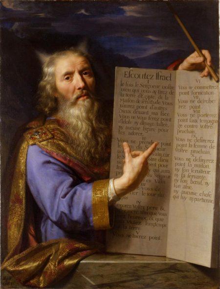 Moïse et les dix commandements