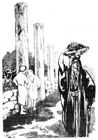 Ruine biblique en Samarie
