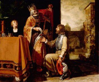 Pour épouser Bethsabée, David envoie Urie au combat