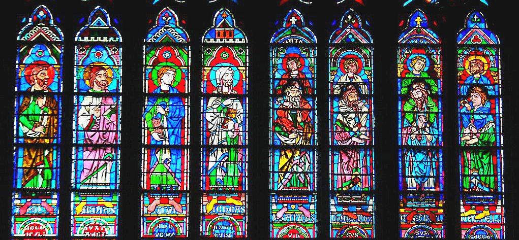 Prophètes expliqués aux enfants - Vitraux Notre-Dame de Paris