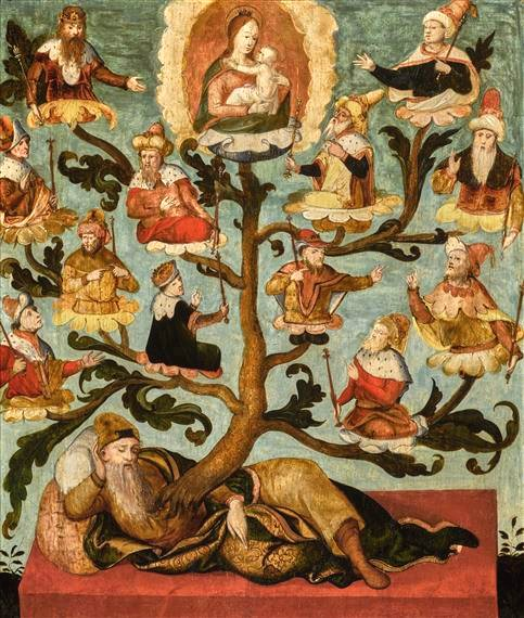 Arbre de Jessé - Les ancêtres du Christ