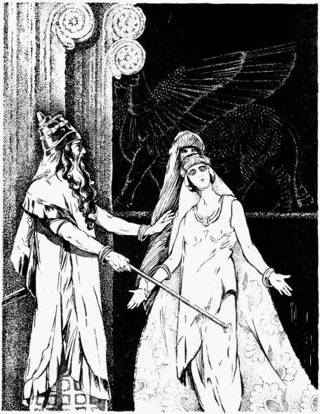 Esther s'évanouie devant Assuérus