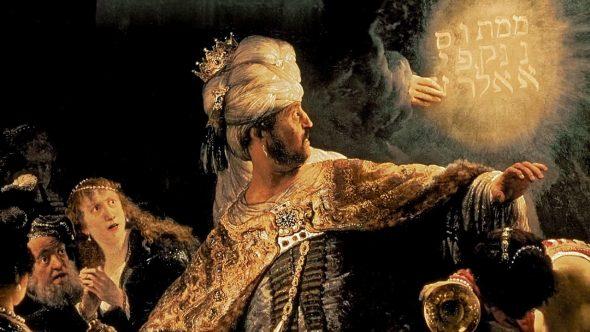 La bible et son contexte : Le festin de Balthazar