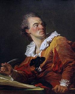 Jean-Honoré Fragonard - Inspiration du poète
